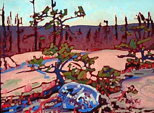 Geoffrey Grantham: Jack Pines:The Barrens in April