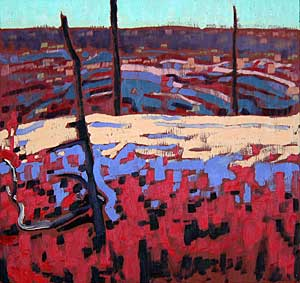 Geoffrey Grantham: Carpeted in Red